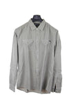 Replay light brown long sleeve cord shirt XL RRP140