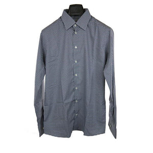 Eton long sleeve grey check shirt size 42 RRP165 PU115