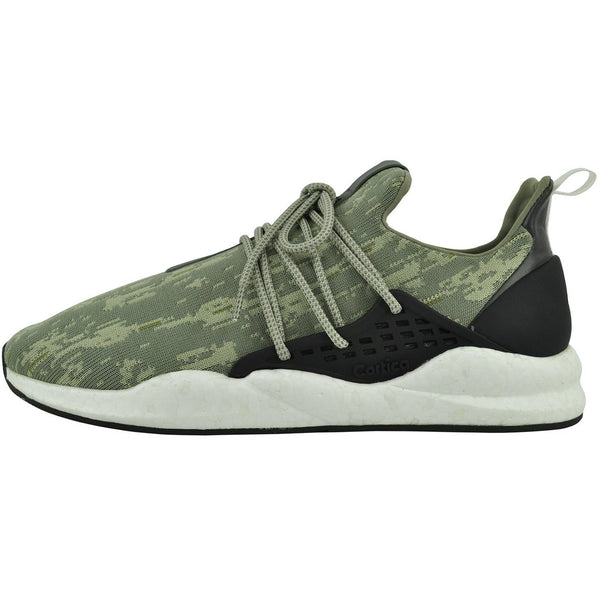 Cortica Intuous Khaki Camo Knit mens trainers UK9 RRP120 PSH