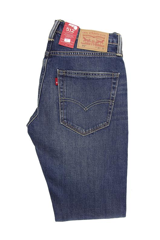 Levis dark blue denim jeans 512 size W29 L32 RRP90