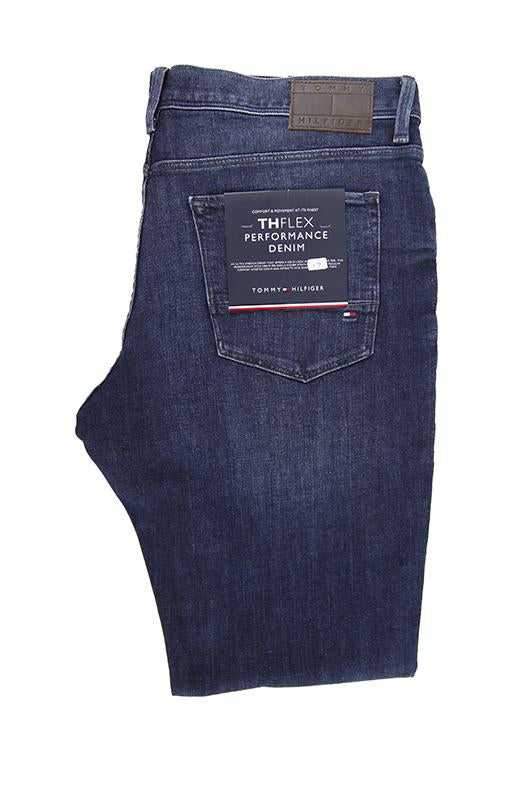 Tommy Hilfiger dark blue denim jeans W32 L32 RRP110 UN23