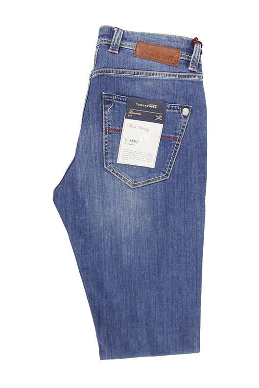 Tramarossa Sartoria light blue denim jeans 38 L34 RRP185 UN23