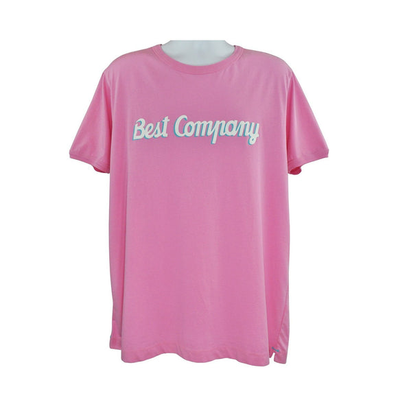 Best Company bright pink short sleeve t shirt size XXL RRP50 PU209