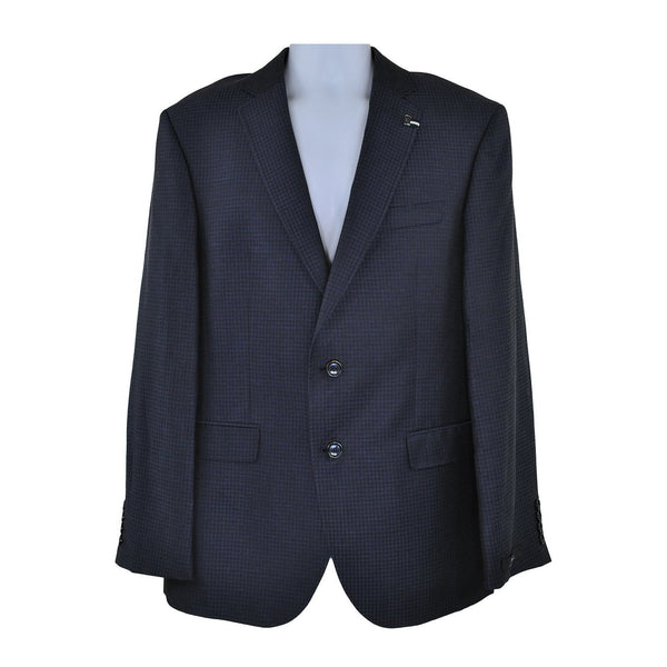 Digel Dark navy suit jacket size 40R RRP280 GR3