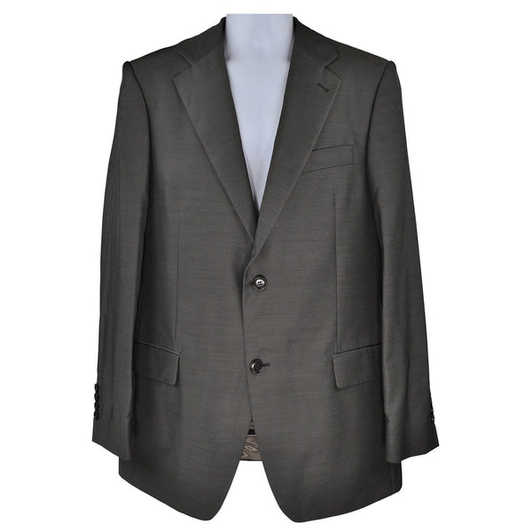 J.Philipp grey metallic suit size 50 RRP400 GR3
