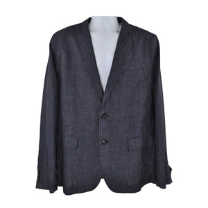 Stones Navy blue casual jacket size 56 RRP220 GR3