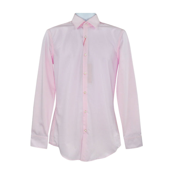 Hugo Boss pink long sleeve shirt size S RRP70 DAR244