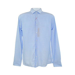 Hugo Boss light blue long sleeve shirt size 39 RRP80 DAR239