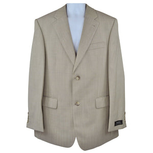 Digel light beige suit size 38R RRP430 GRA2