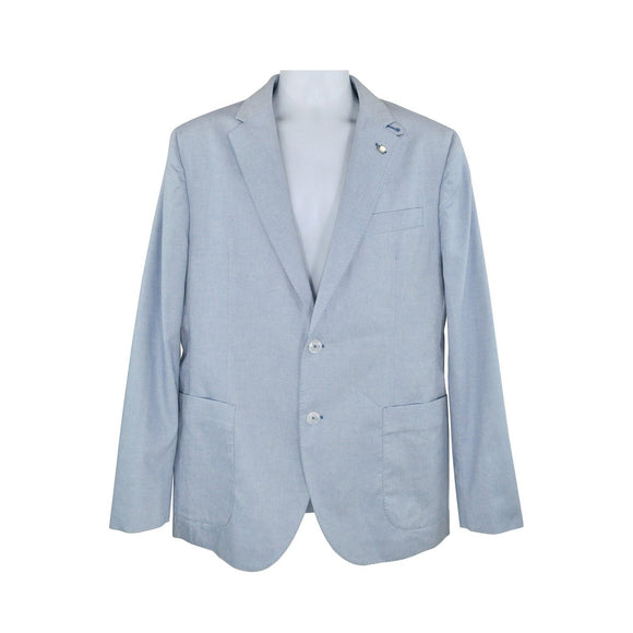 Hackett light blue suit jacket size XL RRP180