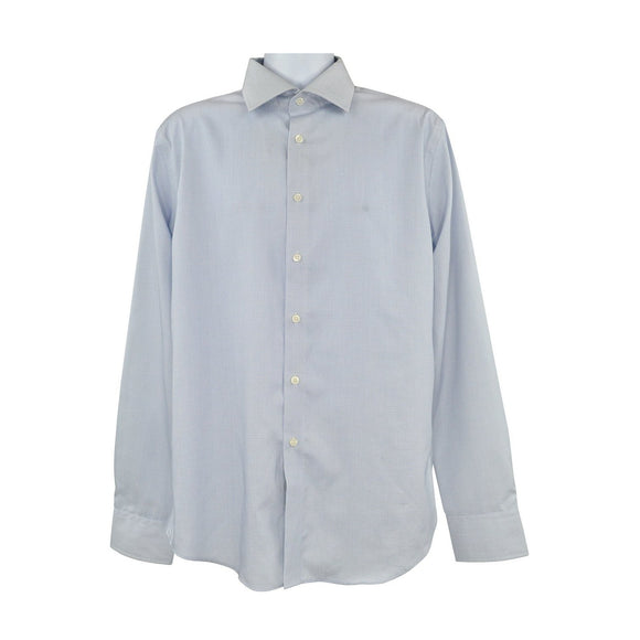 Calvin Klein light blue long sleeve shirt size 42 RRP100 RNOV
