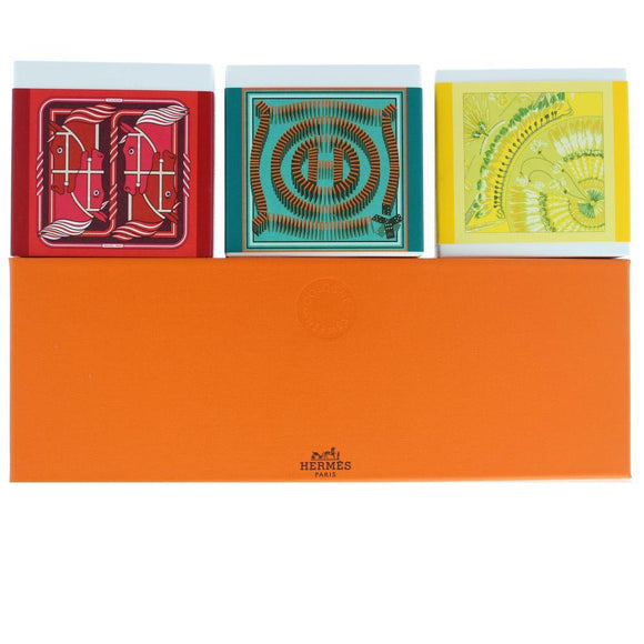Hermes Collection Cologne set of 3 Perfumed Soaps