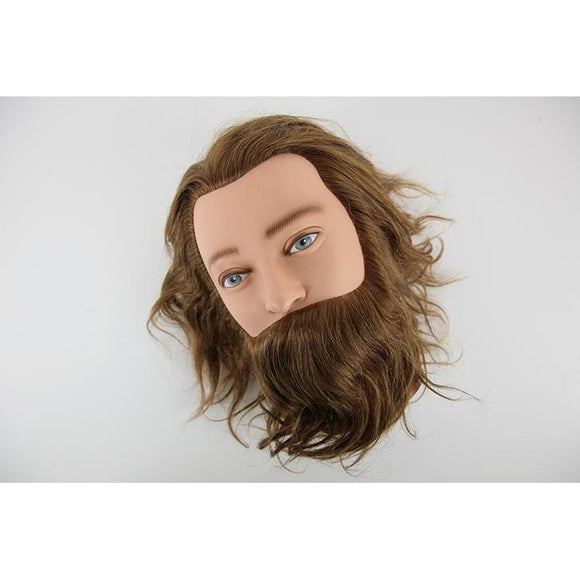 Sibel Practice Mens Hairdressing Head Leif With beard