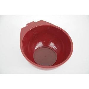 Burgundy Red Colourist Tint Bowl