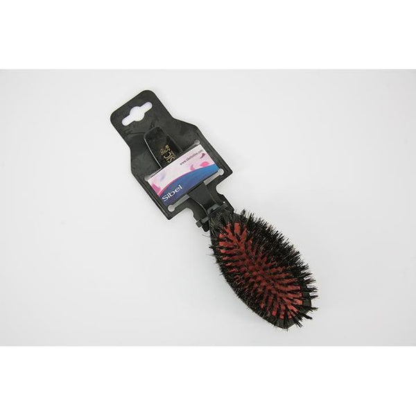 Sibel Cushioned Medium Oval Hair Brush