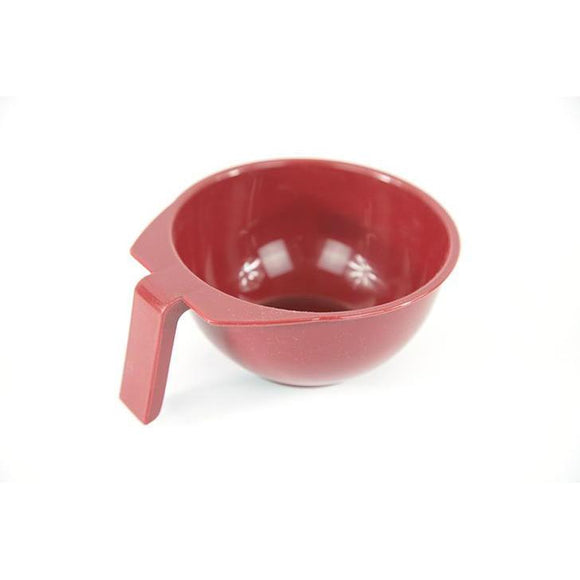 Sibel Burgundy Single Colour Tint Bowl