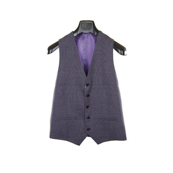 Without Prejudice purple waistcoat size 41 RRP140 PUR207