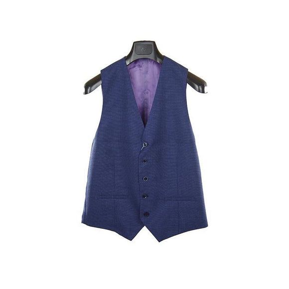 Without Prejudice blue waistcoat size 38 RRP140 PUR207
