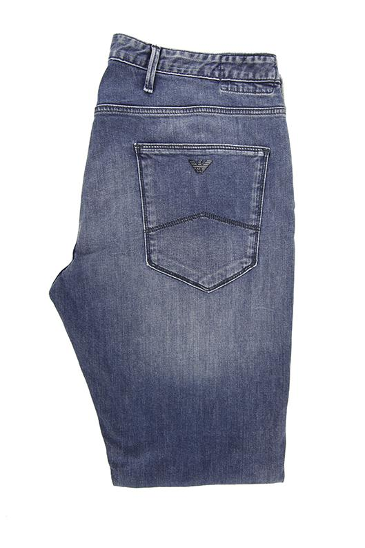 Emporio Armani blue washed denim jeans W36 RRP140 DAR234A