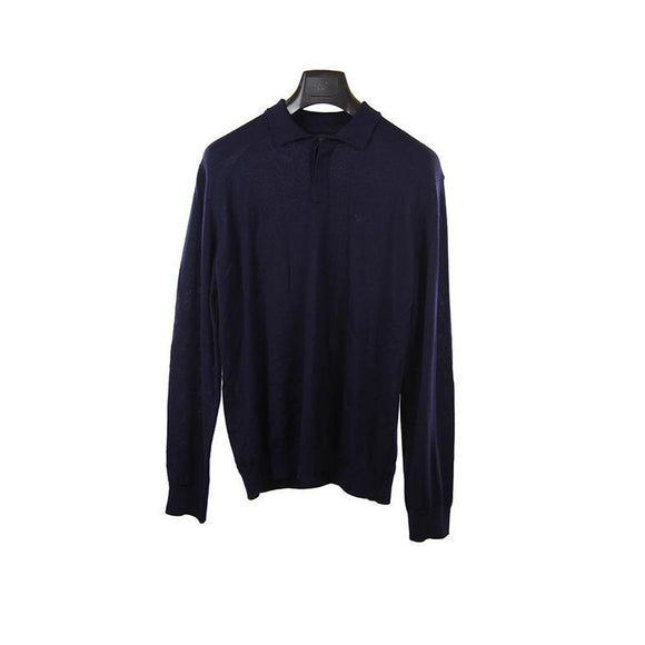 Emporio Armani navy long sleeve jumper XL RRP175 DAR238