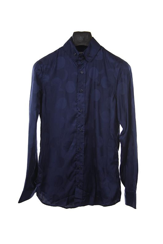 Vivienne Westwood Navy long sleeve shirt size XS 44 RRP295 RDEC