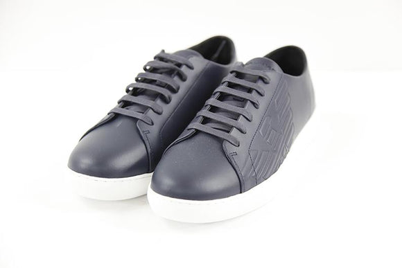 Emporio Armani navy mens trainer UK9 RRP155 DSH