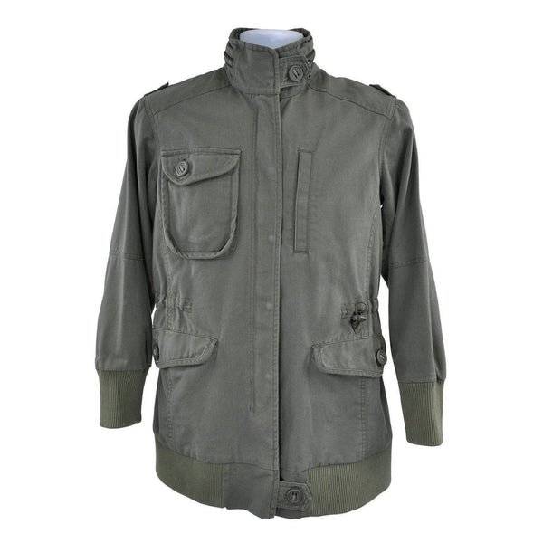 Maharishi Productions Khaki Green cotton jacket Size M RRP500 RTJ