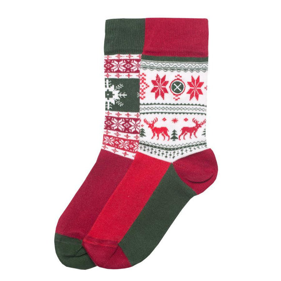 ODSX Cotton rich socks, style Nordic. Perfect Christmas stocking filler RRP £10