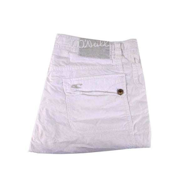 O'Neill White Cotton Shorts Size 27 RRP 70 RAPR