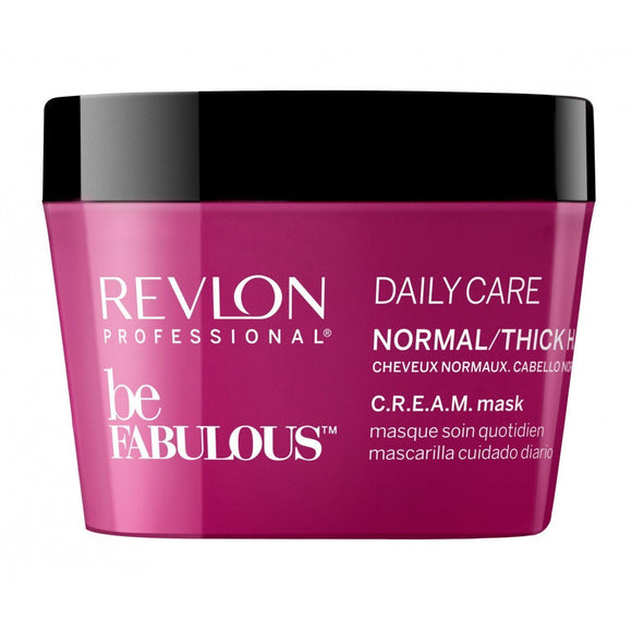 Revlon Be Fabulous Normal Thick Hair Cream Mask 200ml