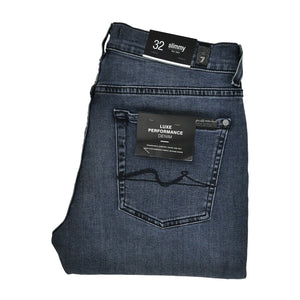 7 For All Mankind mid blue Jeans W32 RRP200 RT