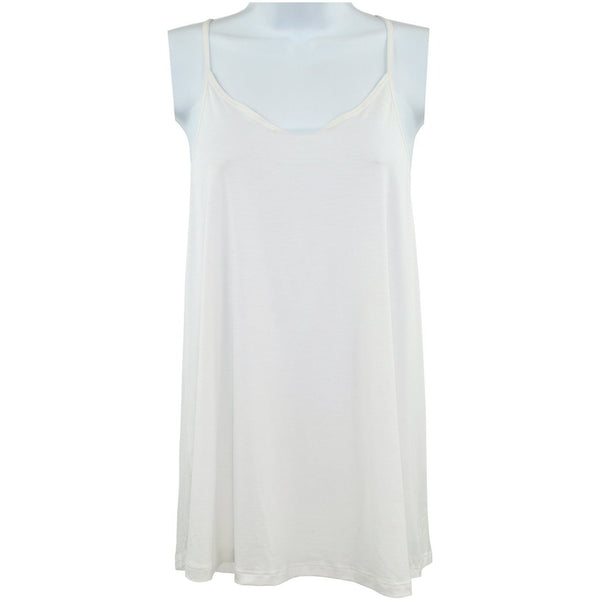 Zara Collection White Vest With Racing Back Size L RRP20