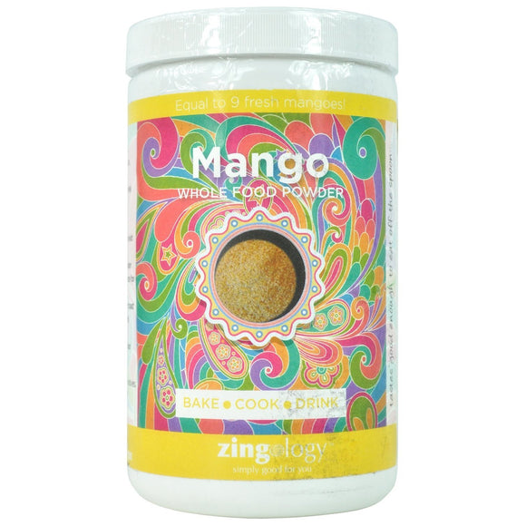 Zingology Mango Whole Food Powder 247g