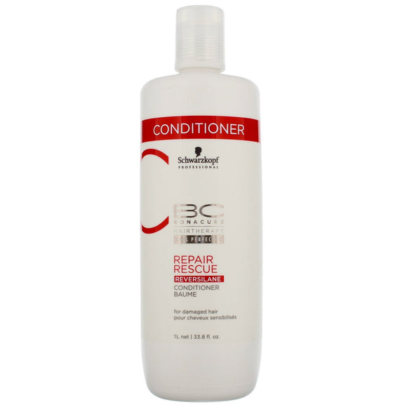 Job lot of 10 Schwarzkopf Repair Rescue Reversilane Conditioner 1000ml