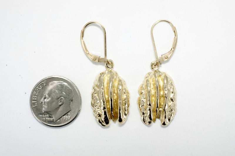 Pecan Jewelry Pecan Earrings