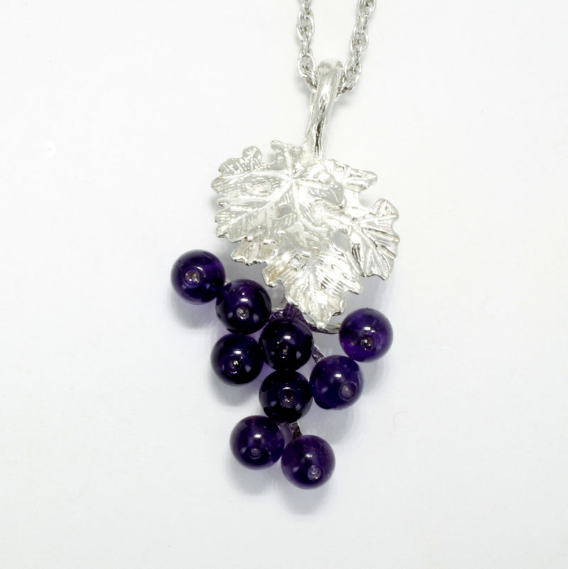 sterling silver grape jewelry