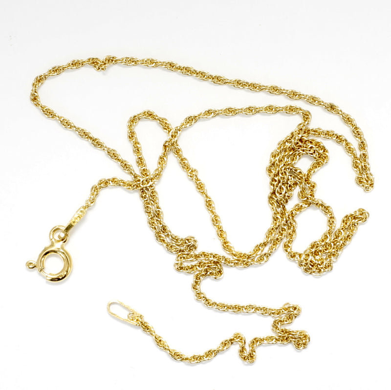 Medium Size Gold Pecan Necklace for Her
