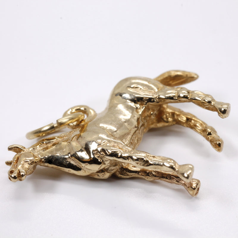 detailed horse charm
