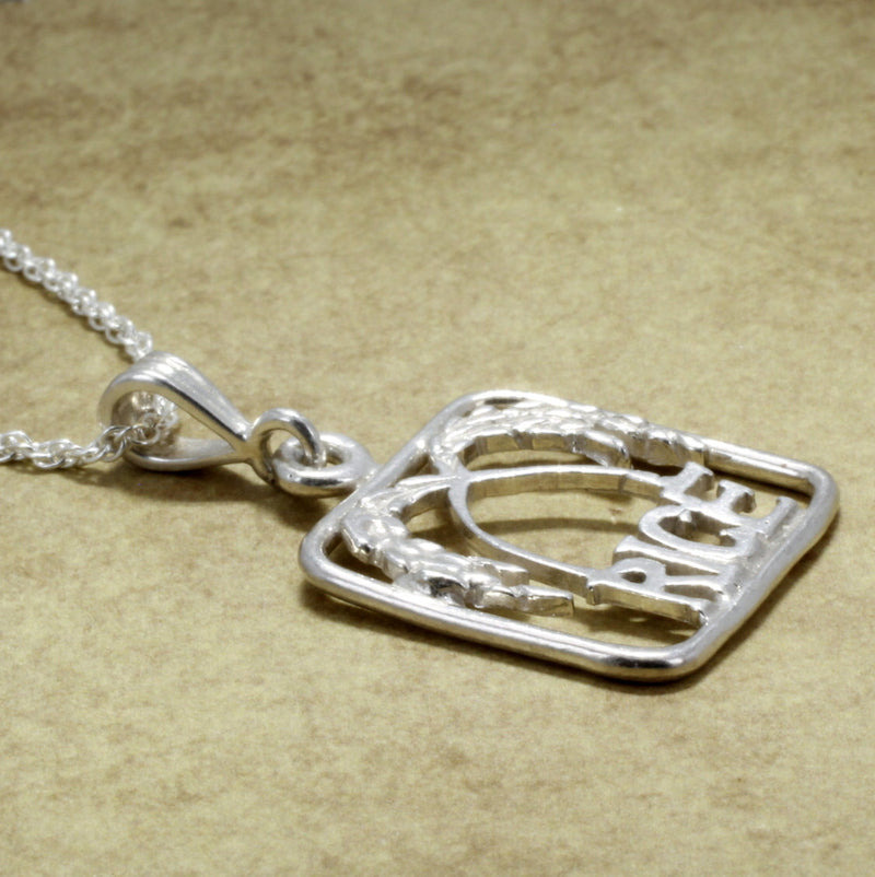 925 Sterling Silver Rice Necklace