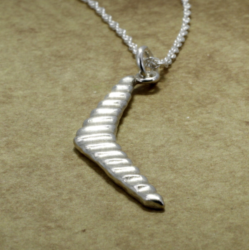 925 Sterling Silver Hang Glider Necklace