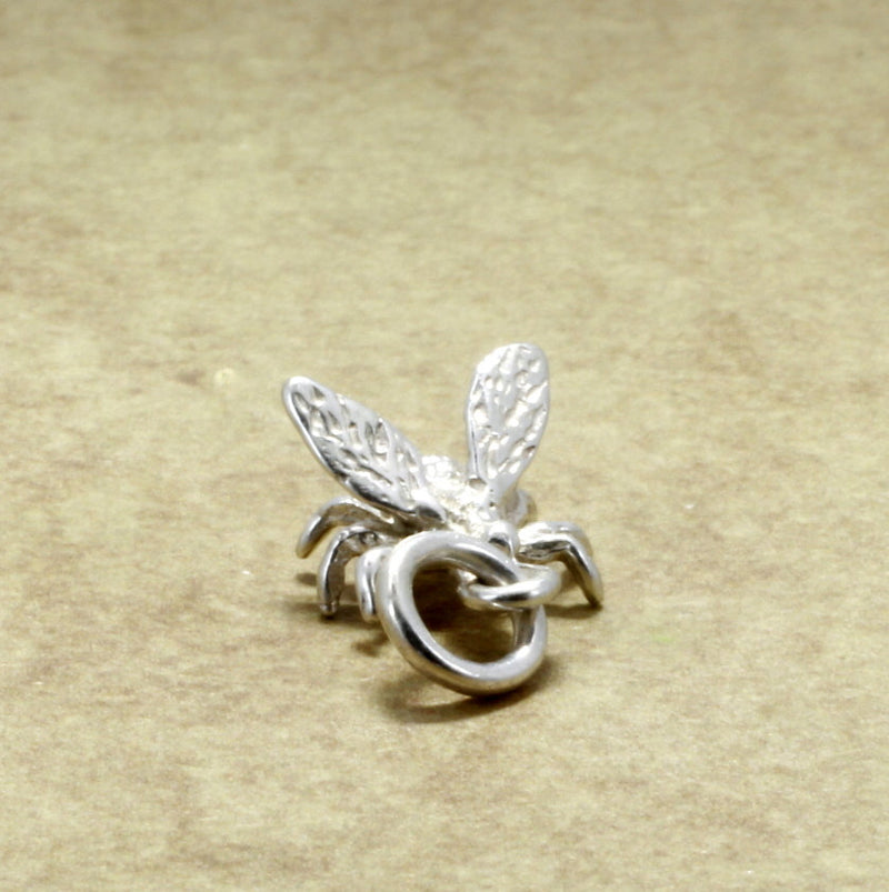 925 Sterling Silver Honey Bee Charm