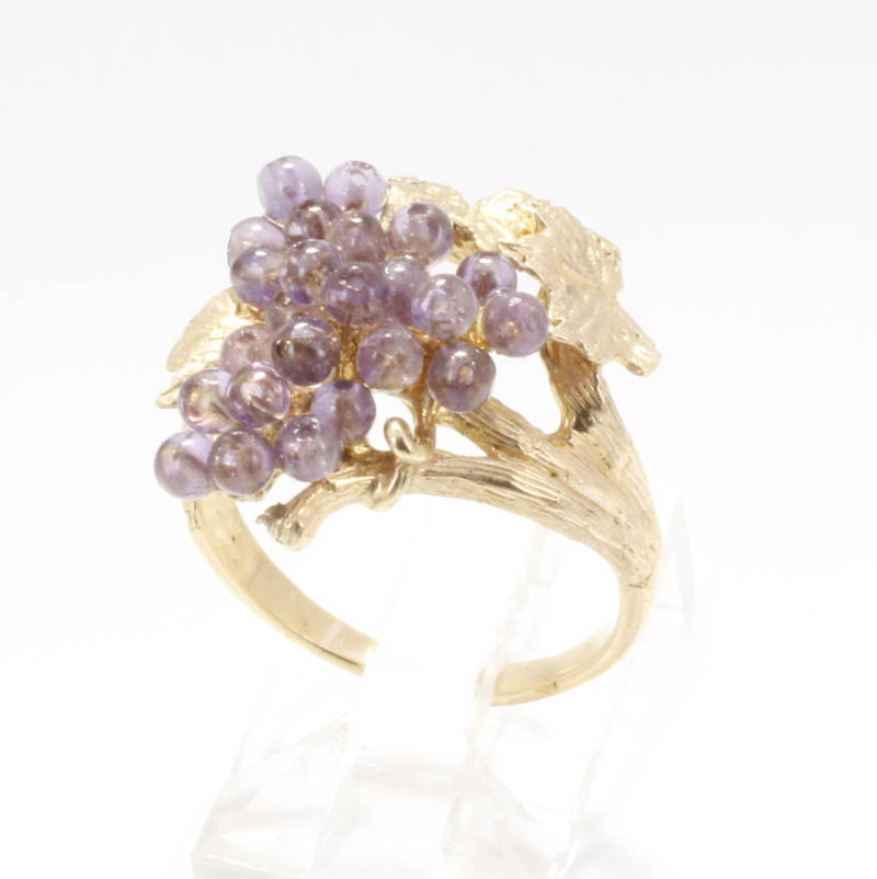 Grape Jewelry Grape Cluster Ring
