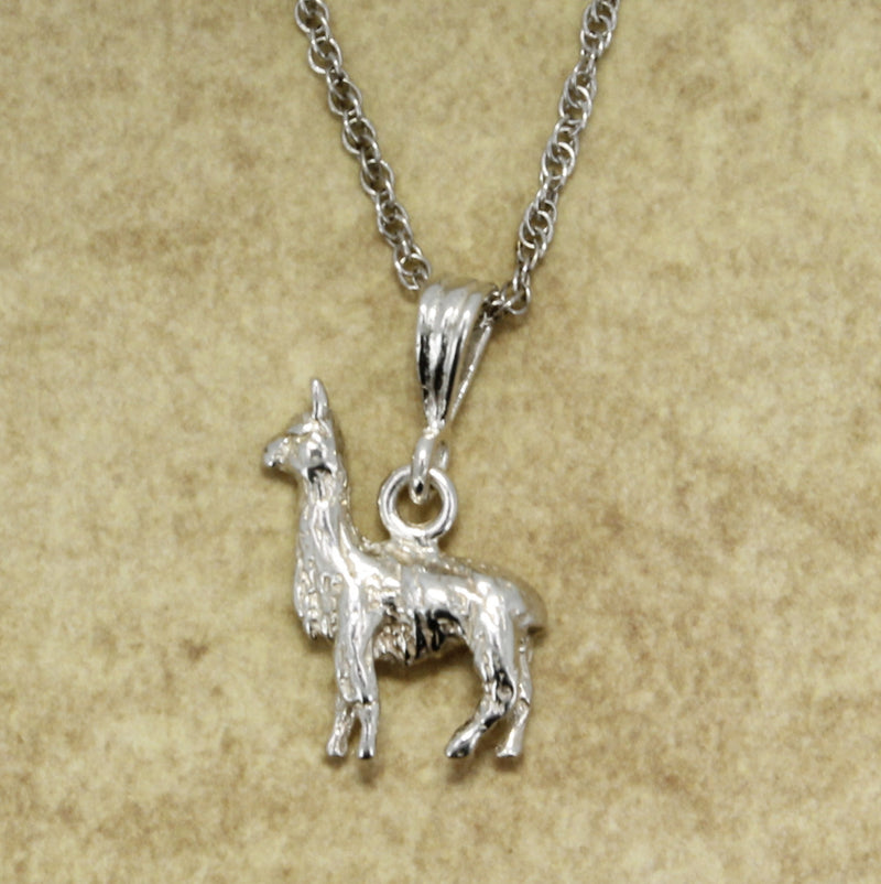 silver Suri Alpaca Necklace