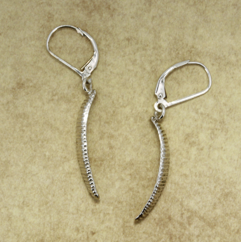 Sterling Silver Paraglider Earrings