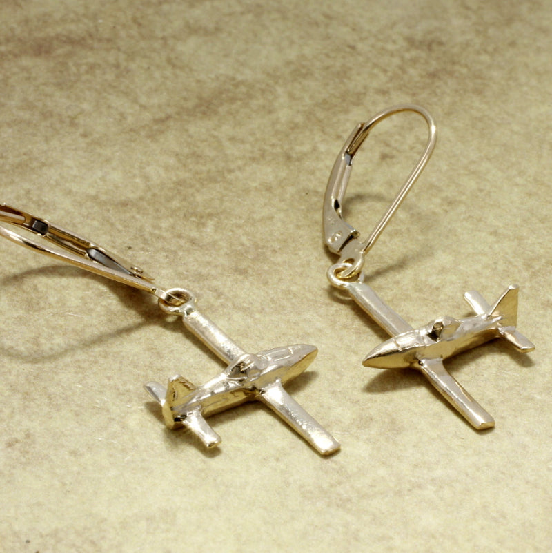Airplane Jewelry Airplane Earrings Air Tractor