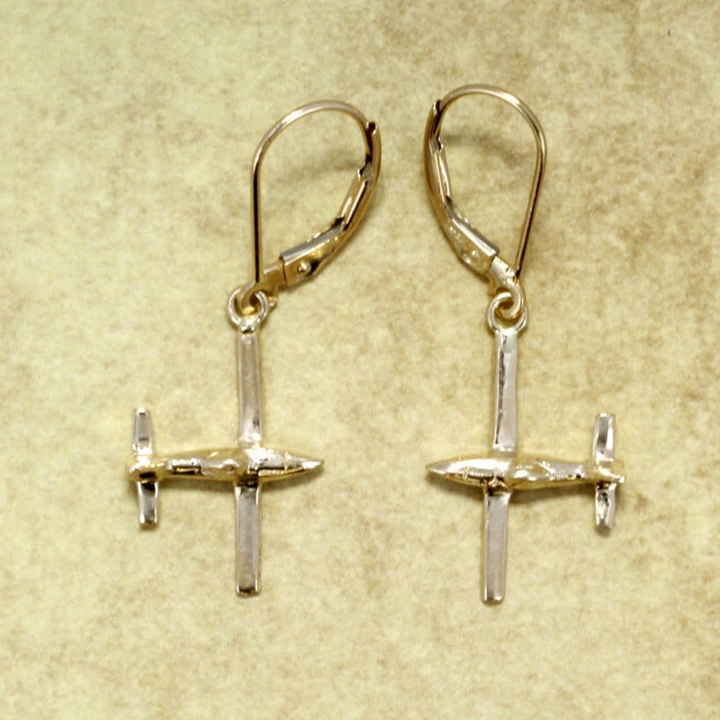 Airplane Jewelry Airplane Earrings Air Tractor Earrings
