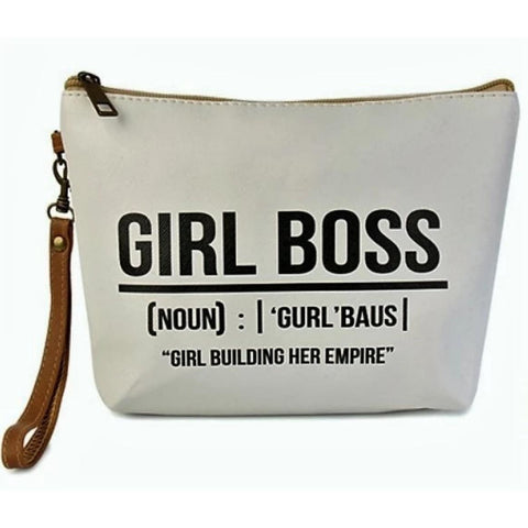 GIRL BOSS COSMETIC STATEMENT BAG