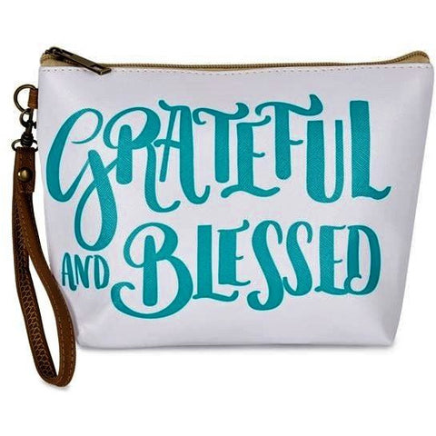 GRATEFUL AND BLESSED COSMETIC BAG