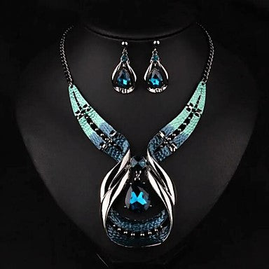 Masquerade Luxury Necklace  set w/matching earrings