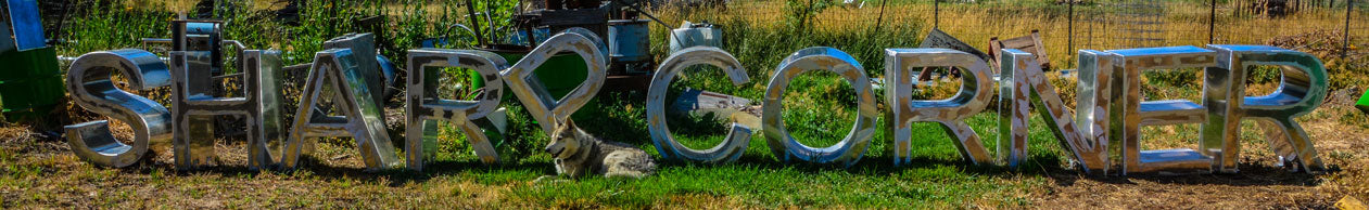 Aluminum Letters by Milt Neeley the Artistwelder from Hooper, UT